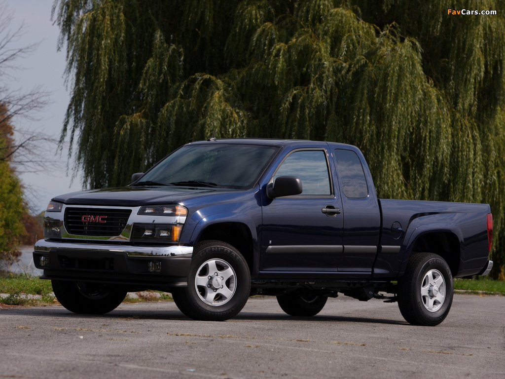 GMC Canyon Extended Cab 2003–12 pictures (1024 x 768)