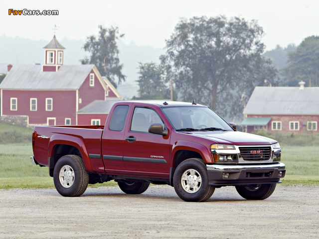 GMC Canyon Extended Cab 2003–12 pictures (640 x 480)