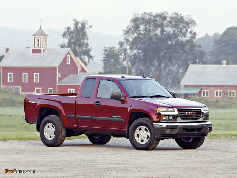GMC Canyon Extended Cab 2003–12 pictures (800 x 600)