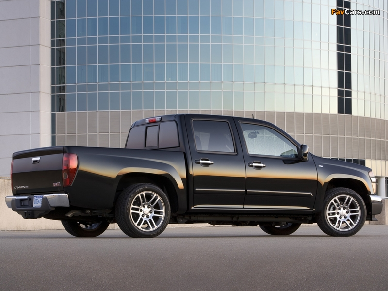 GMC Canyon Crew Cab Sport Suspension Package 2006 photos (800 x 600)