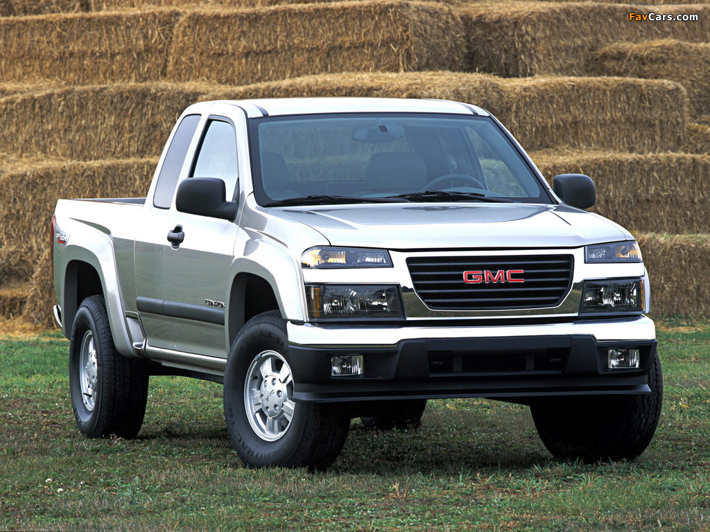 Images of GMC Canyon Extended Cab 2003–12 (1024 x 768)