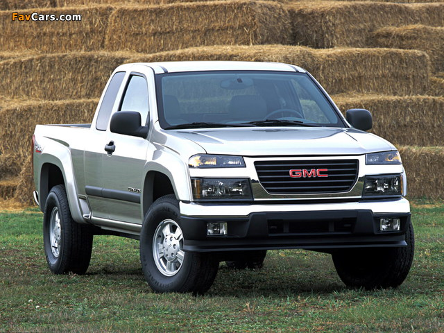 Images of GMC Canyon Extended Cab 2003–12 (640 x 480)
