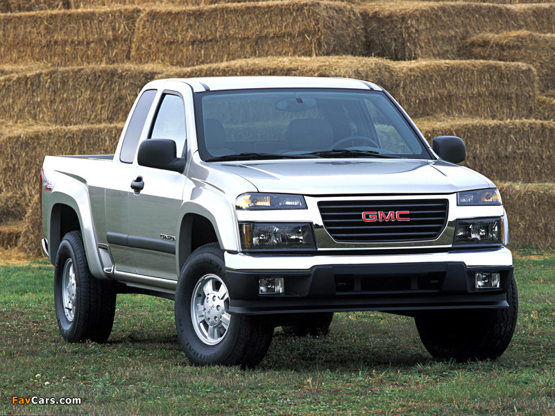 Images of GMC Canyon Extended Cab 2003–12 (800 x 600)