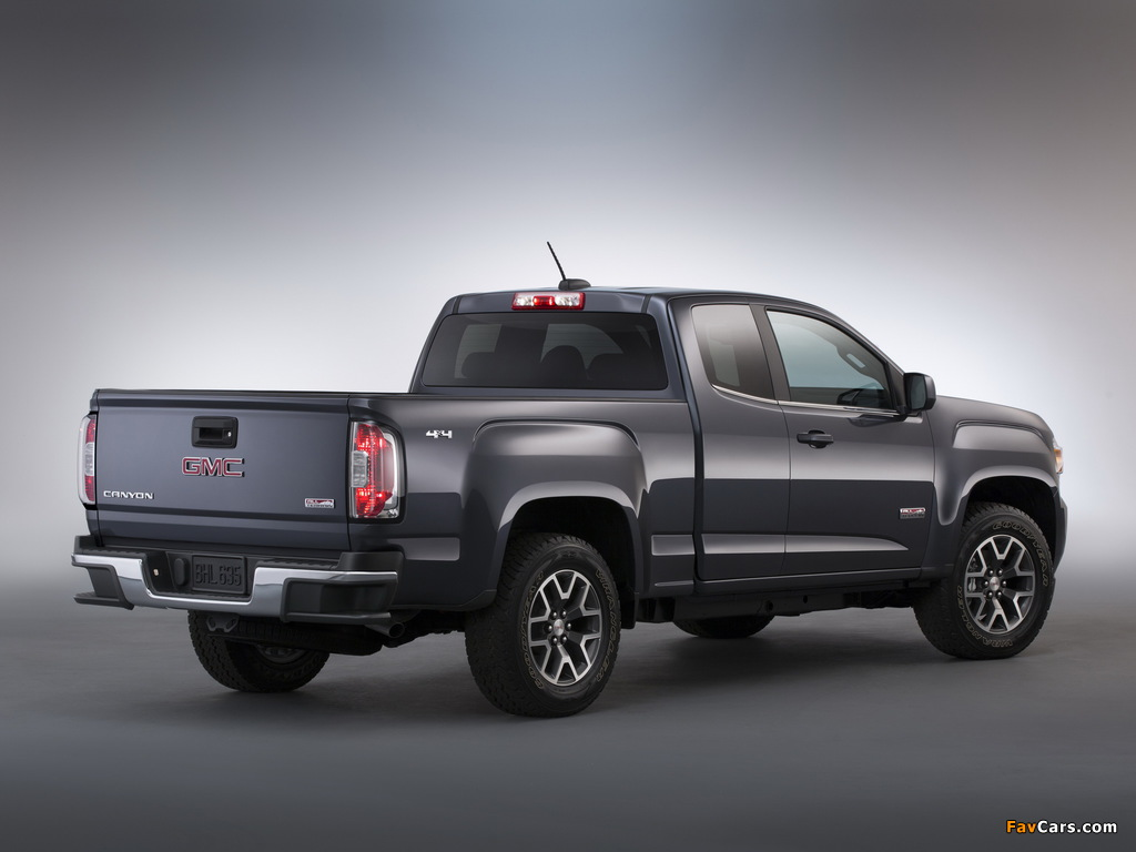 Images of GMC Canyon All Terrain Extended Cab 2014 (1024 x 768)