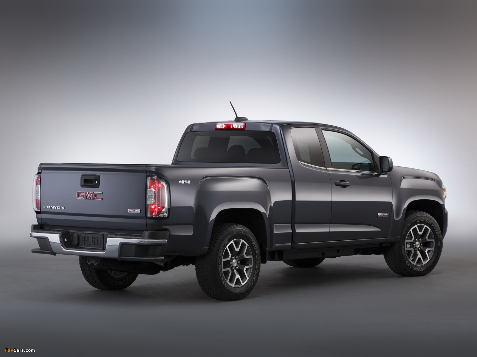 Images of GMC Canyon All Terrain Extended Cab 2014 (1600 x 1200)