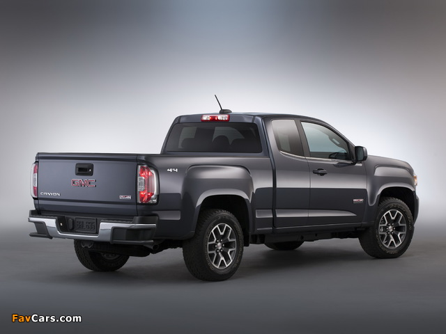 Images of GMC Canyon All Terrain Extended Cab 2014 (640 x 480)