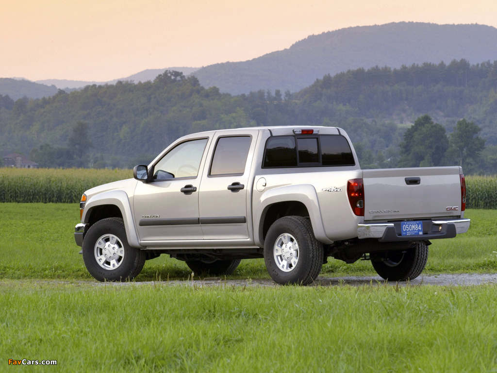 Pictures of GMC Canyon Crew Cab 2003–12 (1024 x 768)