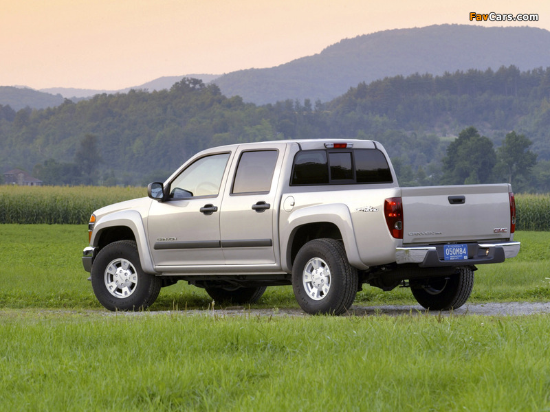 Pictures of GMC Canyon Crew Cab 2003–12 (800 x 600)