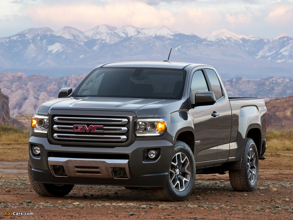 Pictures of GMC Canyon All Terrain Extended Cab 2014 (1024 x 768)