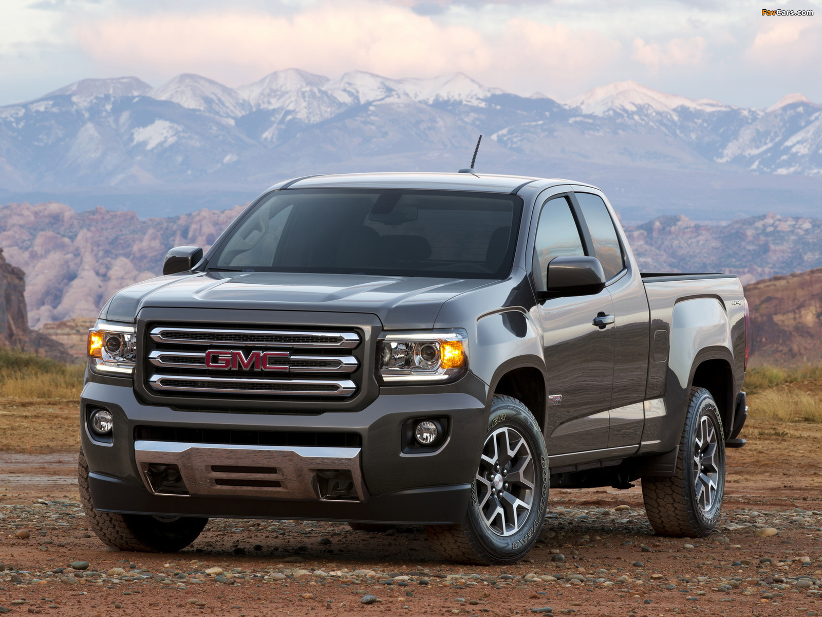 Pictures of GMC Canyon All Terrain Extended Cab 2014 (1600 x 1200)