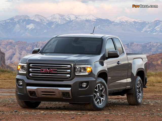 Pictures of GMC Canyon All Terrain Extended Cab 2014 (640 x 480)