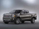GMC Canyon SLT Crew Cab 2014 wallpapers
