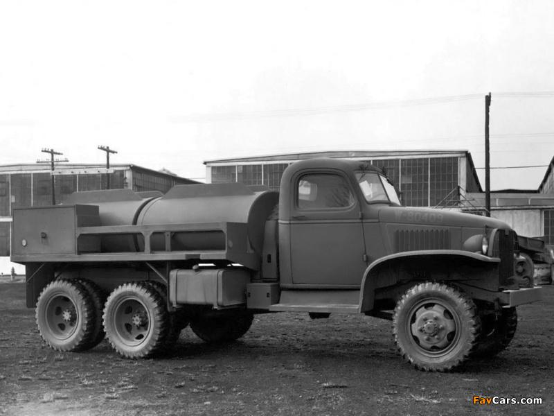 GMC CCKW 353 Tanker 1940–45 wallpapers (800 x 600)