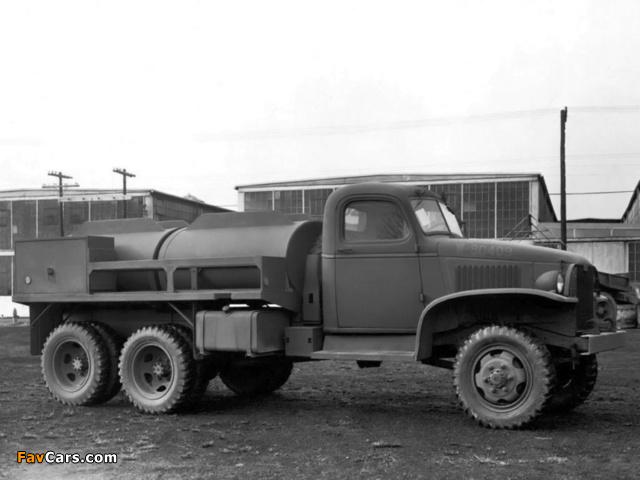 GMC CCKW 353 Tanker 1940–45 wallpapers (640 x 480)
