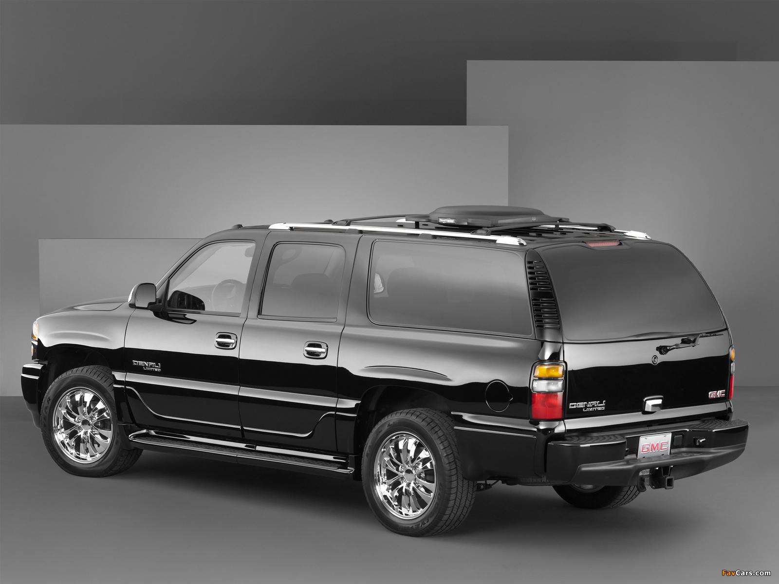 GMC Yukon XL Denali Limited Edition Concept 2004 photos (1600 x 1200)