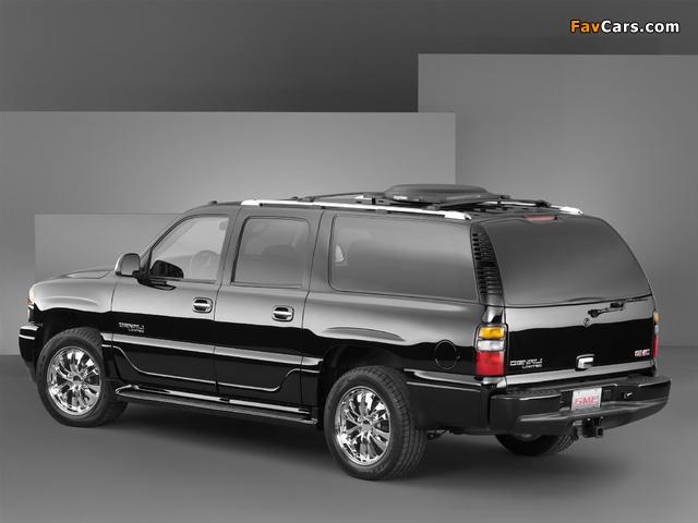 GMC Yukon XL Denali Limited Edition Concept 2004 photos (640 x 480)