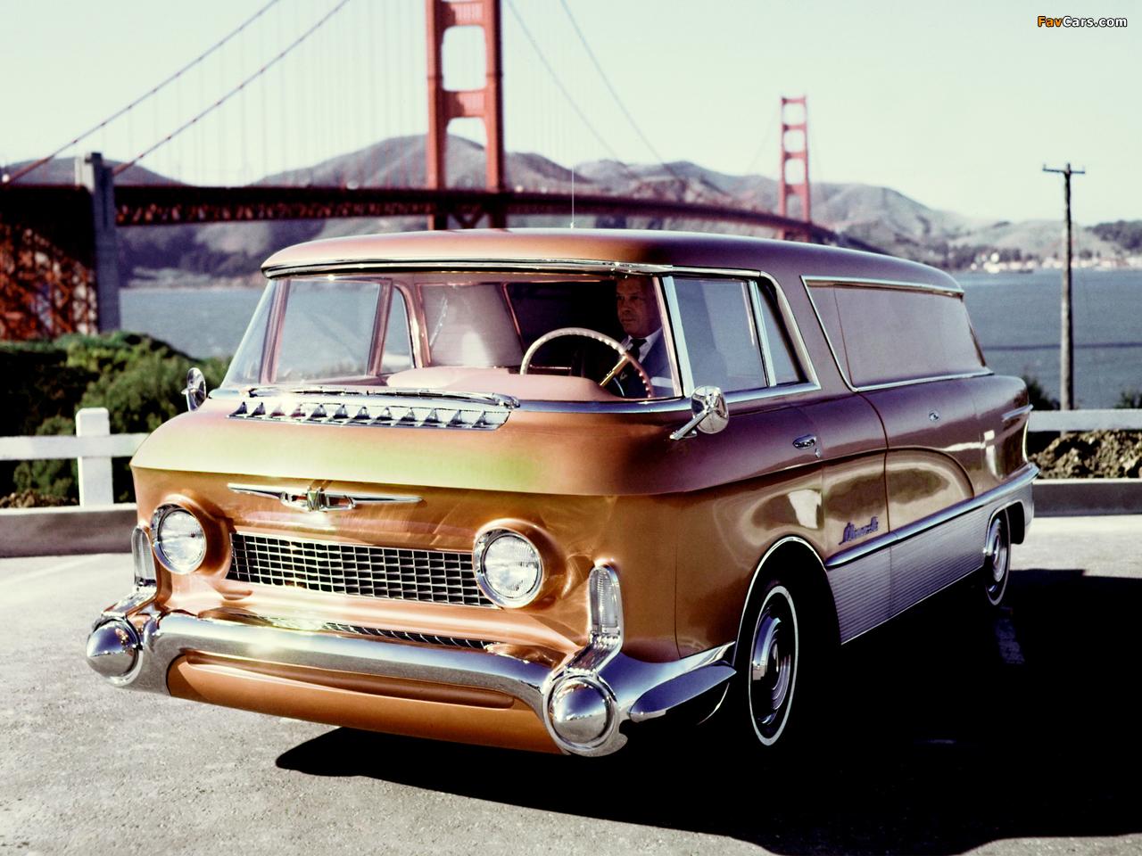 GMC LUniverselle Concept Truck 1955 photos (1280 x 960)