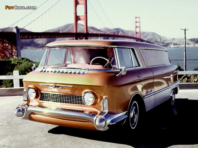 GMC LUniverselle Concept Truck 1955 photos (640 x 480)