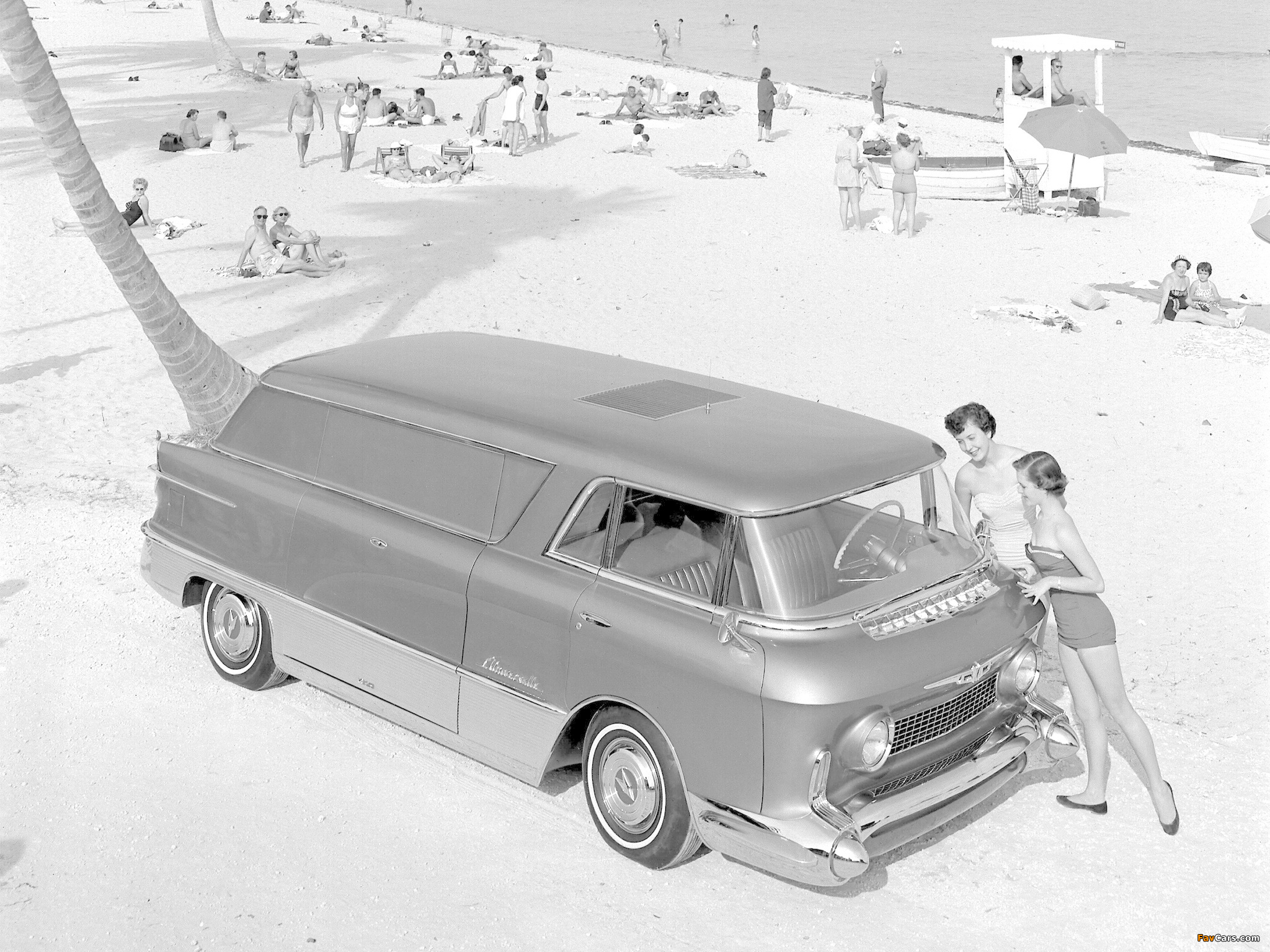 Images of GMC LUniverselle Concept Truck 1955 (2048 x 1536)