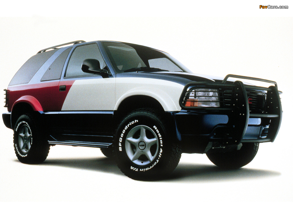 Images of Tommy Hilfiger GMC Jimmy Concept 1998 (1024 x 768)