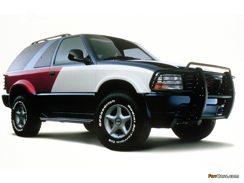 Images of Tommy Hilfiger GMC Jimmy Concept 1998 (800 x 600)