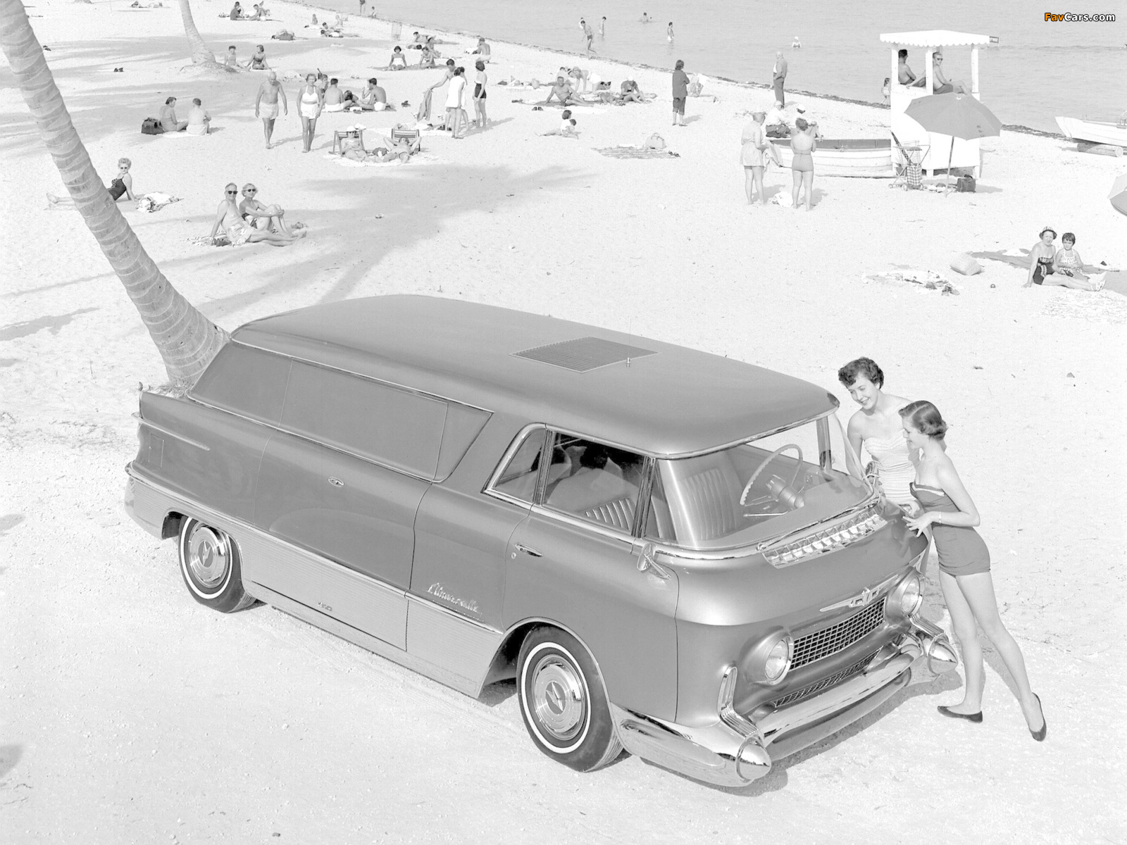 Images of GMC LUniverselle Concept Truck 1955 (1600 x 1200)