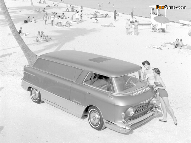 Images of GMC LUniverselle Concept Truck 1955 (640 x 480)