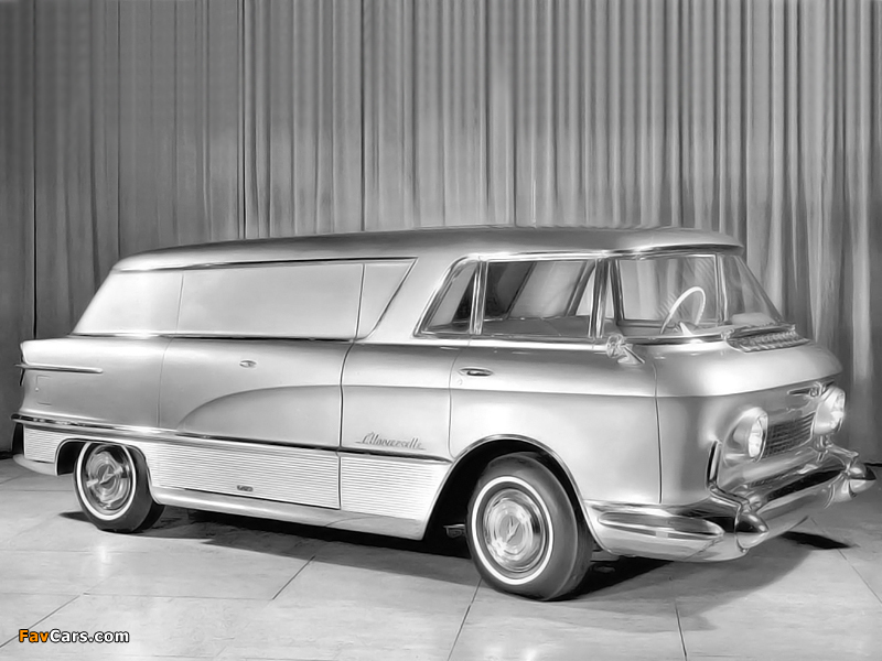 Photos of GMC LUniverselle Concept Truck 1955 (800 x 600)