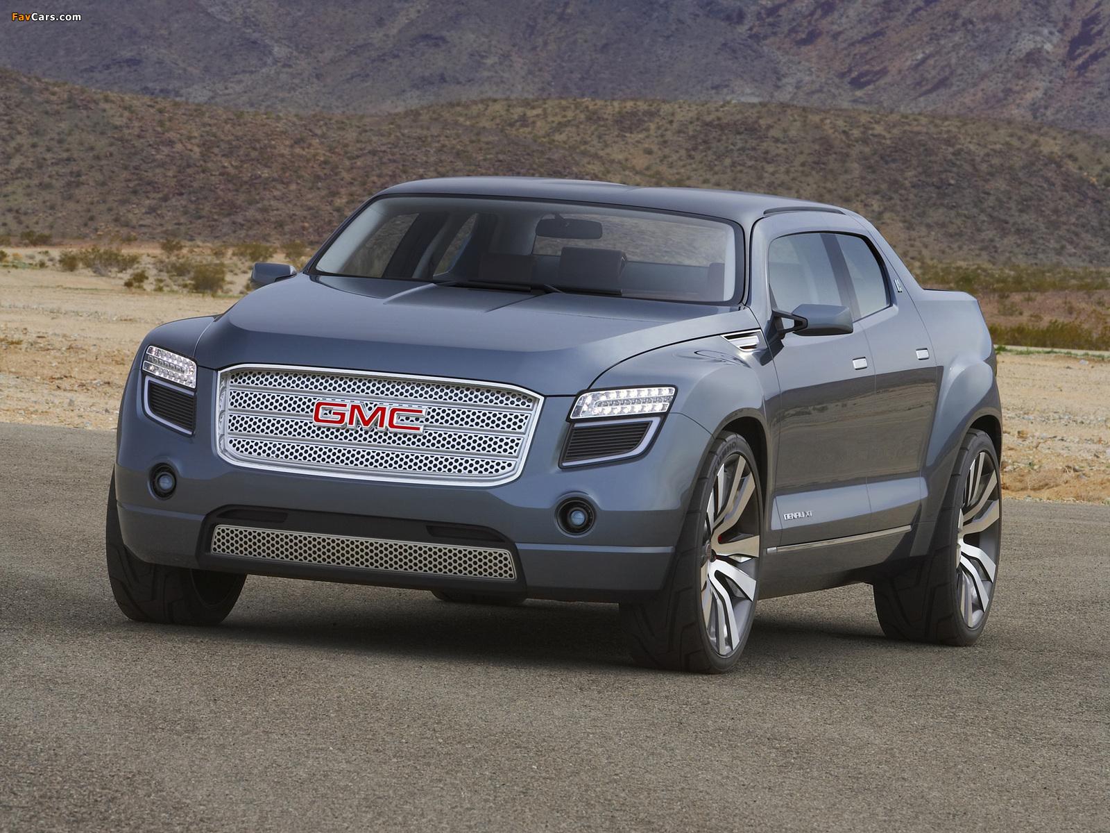 Photos of GMC Denali XT Concept 2008 (1600 x 1200)