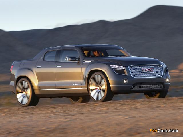 Photos of GMC Denali XT Concept 2008 (640 x 480)