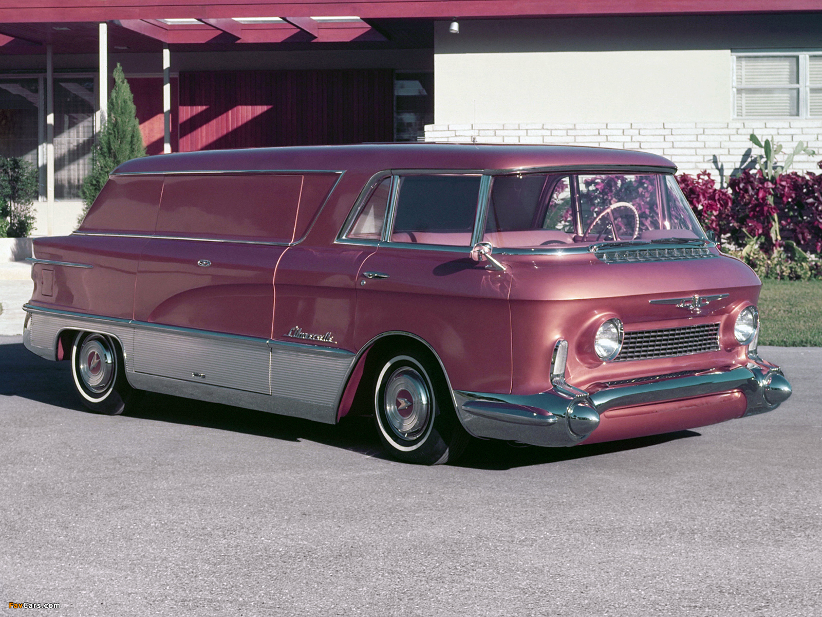 Pictures of GMC LUniverselle Concept Truck 1955 (1600 x 1200)
