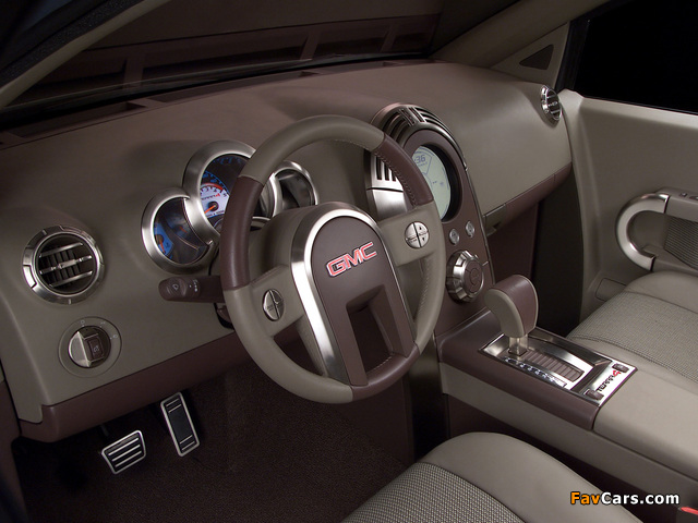 Pictures of GMC Terra4 Concept 2002 (640 x 480)