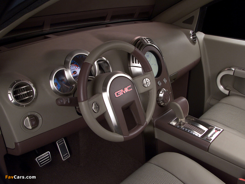 Pictures of GMC Terra4 Concept 2002 (800 x 600)
