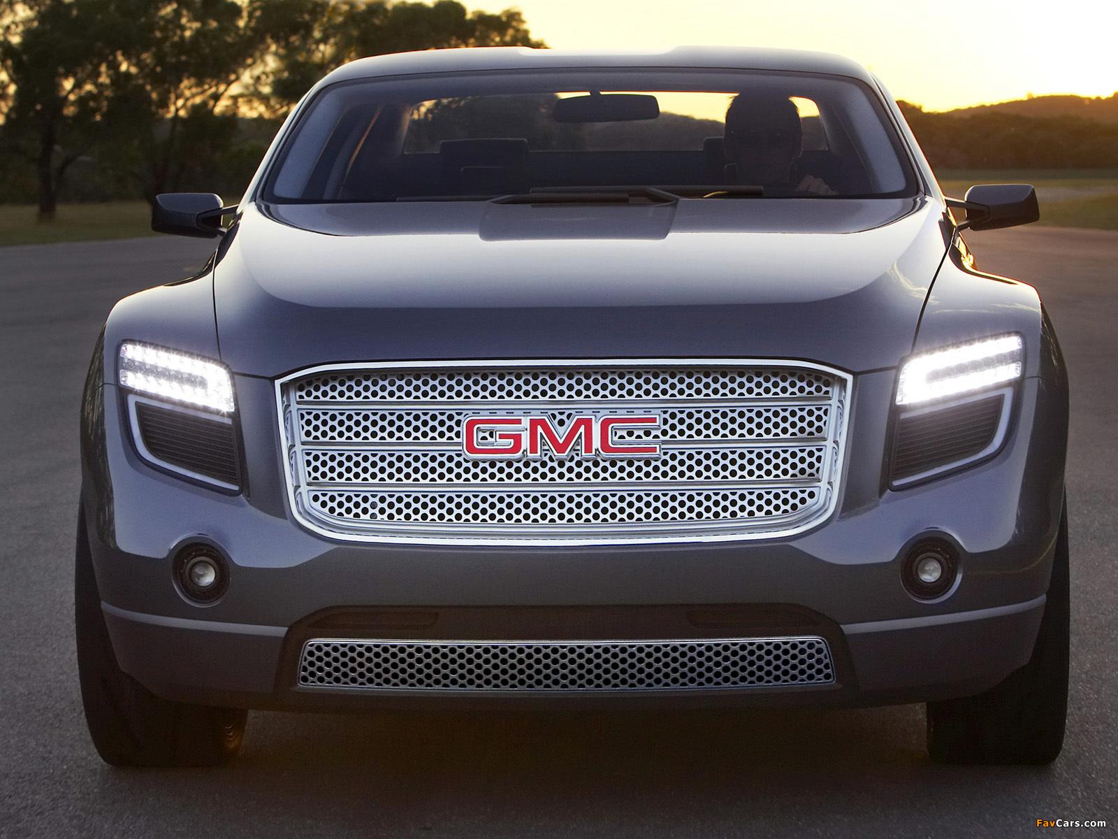 Pictures of GMC Denali XT Concept 2008 (1600 x 1200)