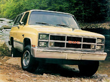 GMC Jimmy 1983–84 images