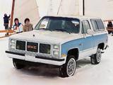 GMC K-Jimmy 1985–86 photos