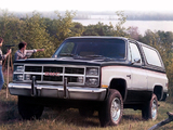 Photos of GMC Jimmy 1983–84