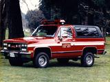 Photos of GMC K5 Jimmy Firetruck 1988–91