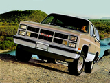 Pictures of GMC Jimmy 1983–84
