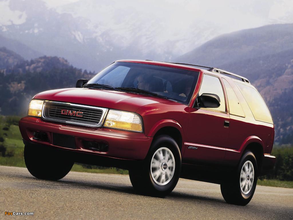 GMC Jimmy 3-door 1997–2001 wallpapers (1024 x 768)