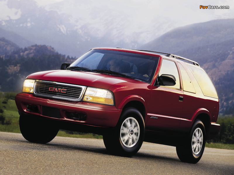 GMC Jimmy 3-door 1997–2001 wallpapers (800 x 600)