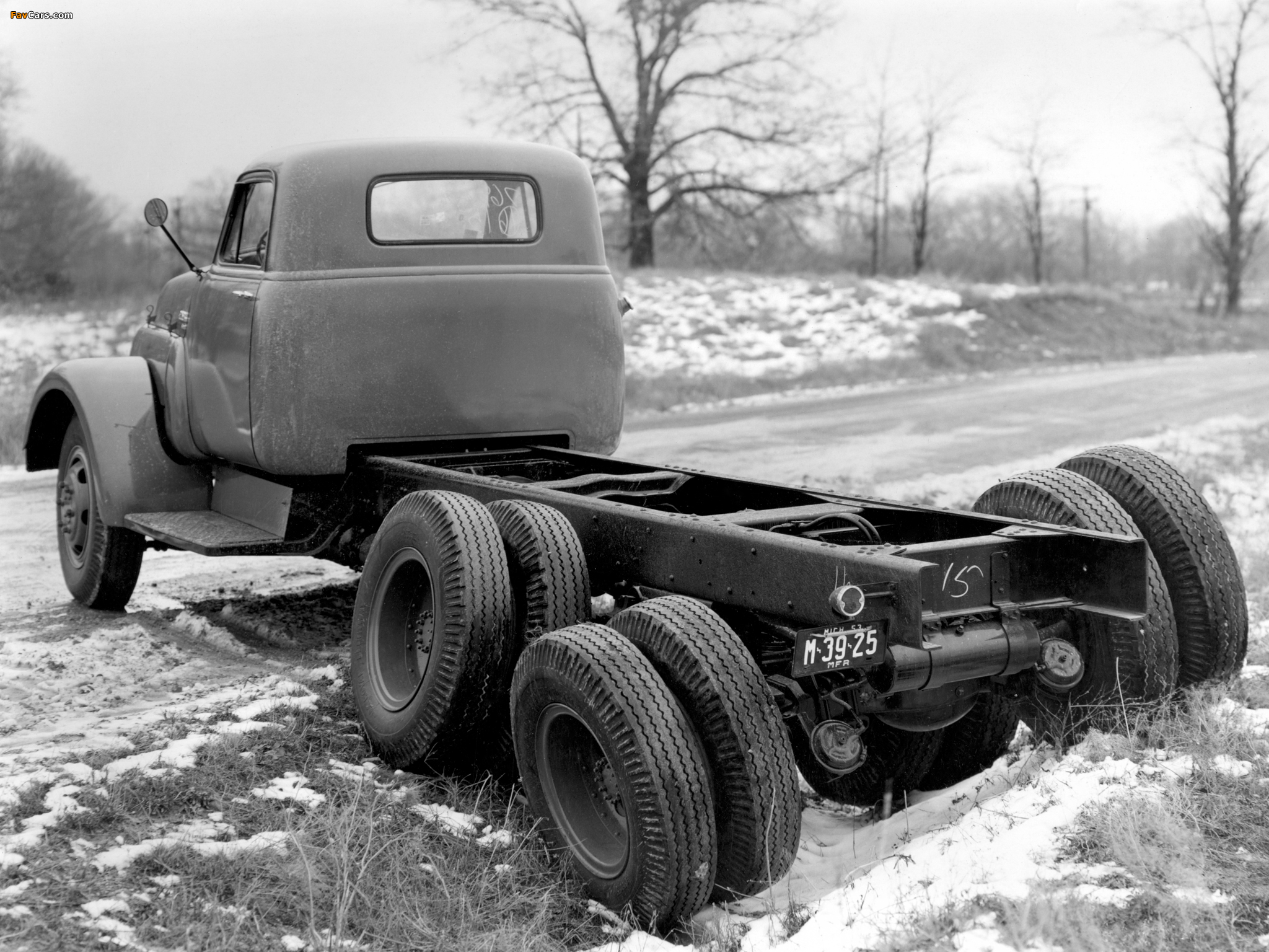 GMC Model 630 Chassis Cab 1963 wallpapers (2048 x 1536)