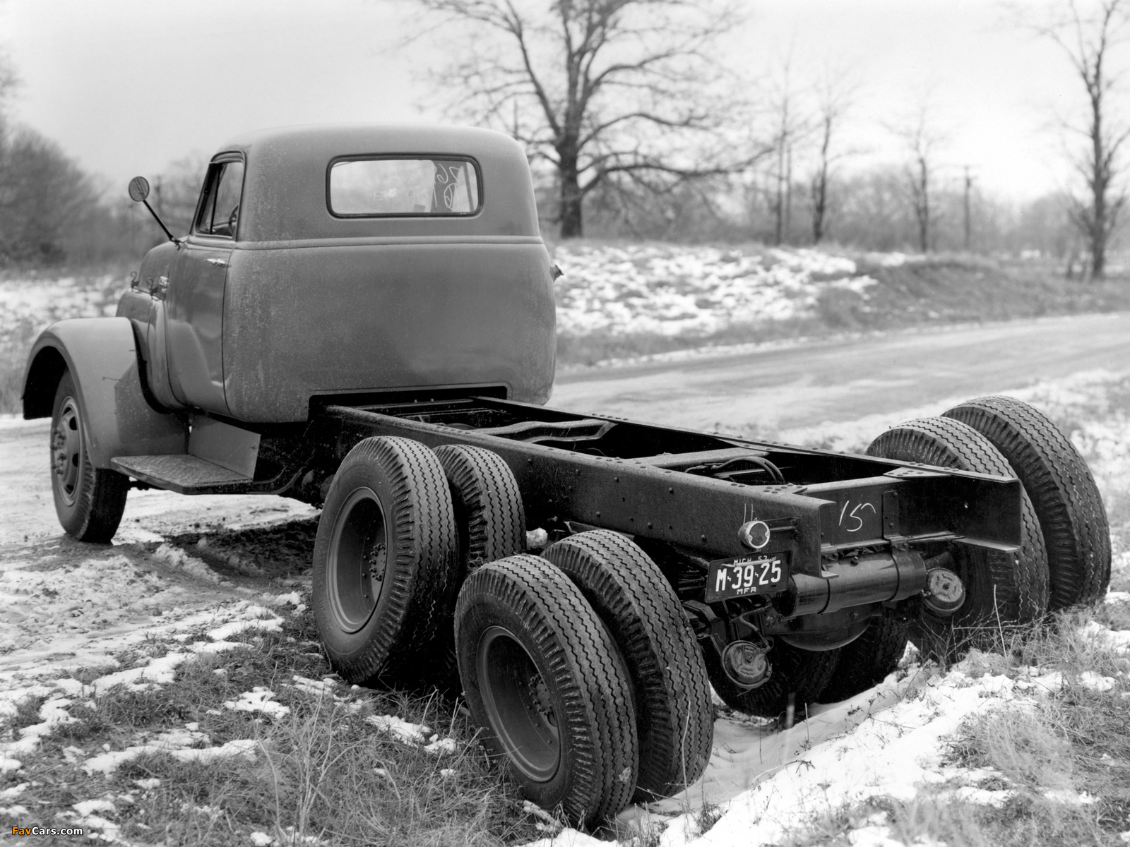 GMC Model 630 Chassis Cab 1963 wallpapers (1600 x 1200)