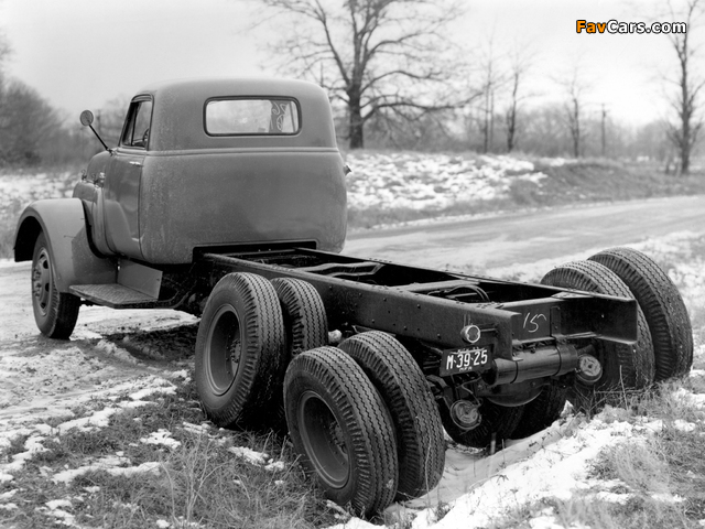 GMC Model 630 Chassis Cab 1963 wallpapers (640 x 480)
