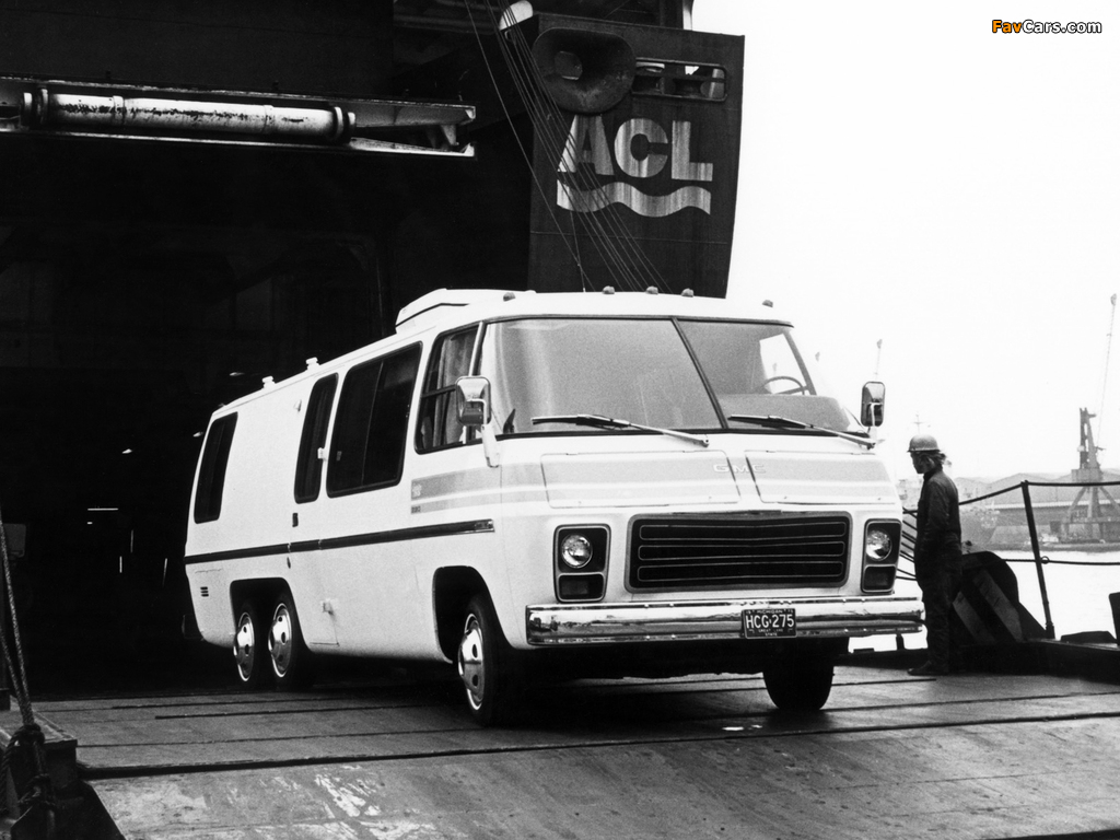 Images of GMC Motorhome 1973–78 (1024 x 768)