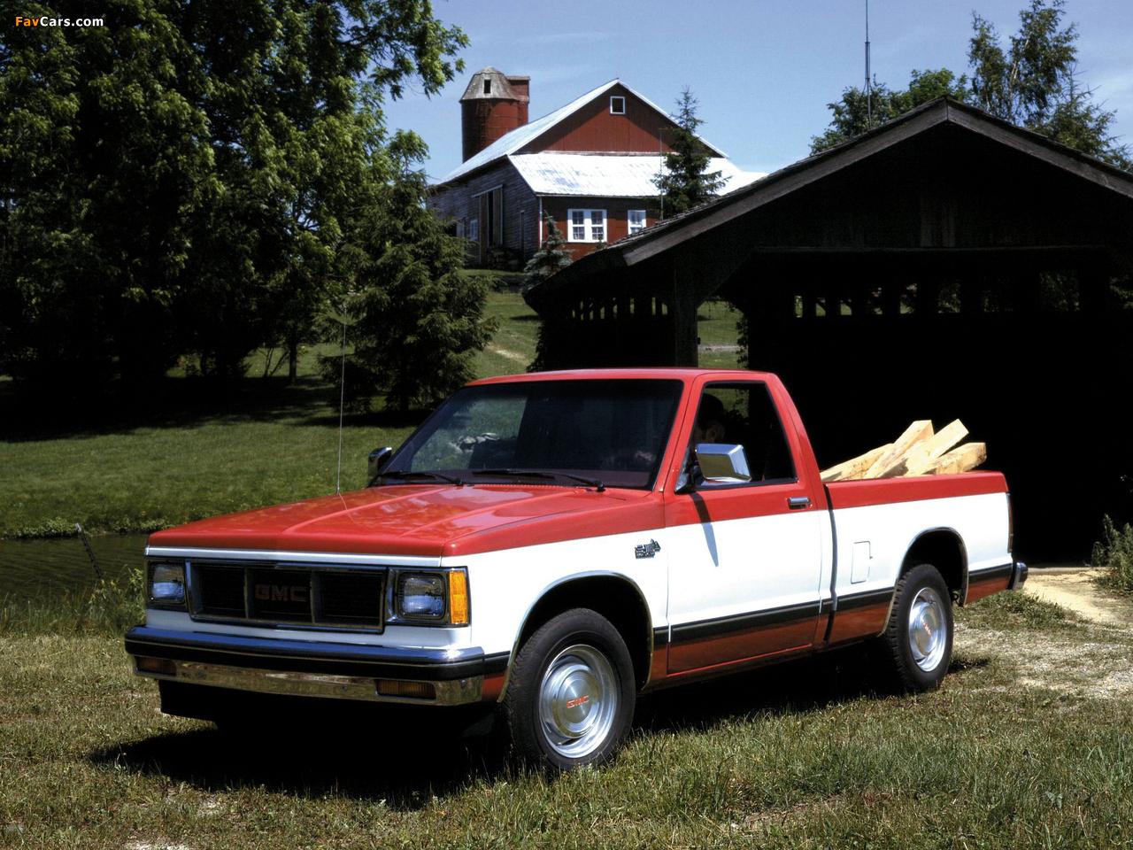 GMC S-15 Pickup 1982 photos (1280 x 960)