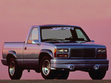 Xenon GMC Sierra Regular Cab 1992–98 wallpapers