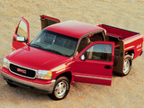 GMC Sierra Extended Cab 1999–2002 images