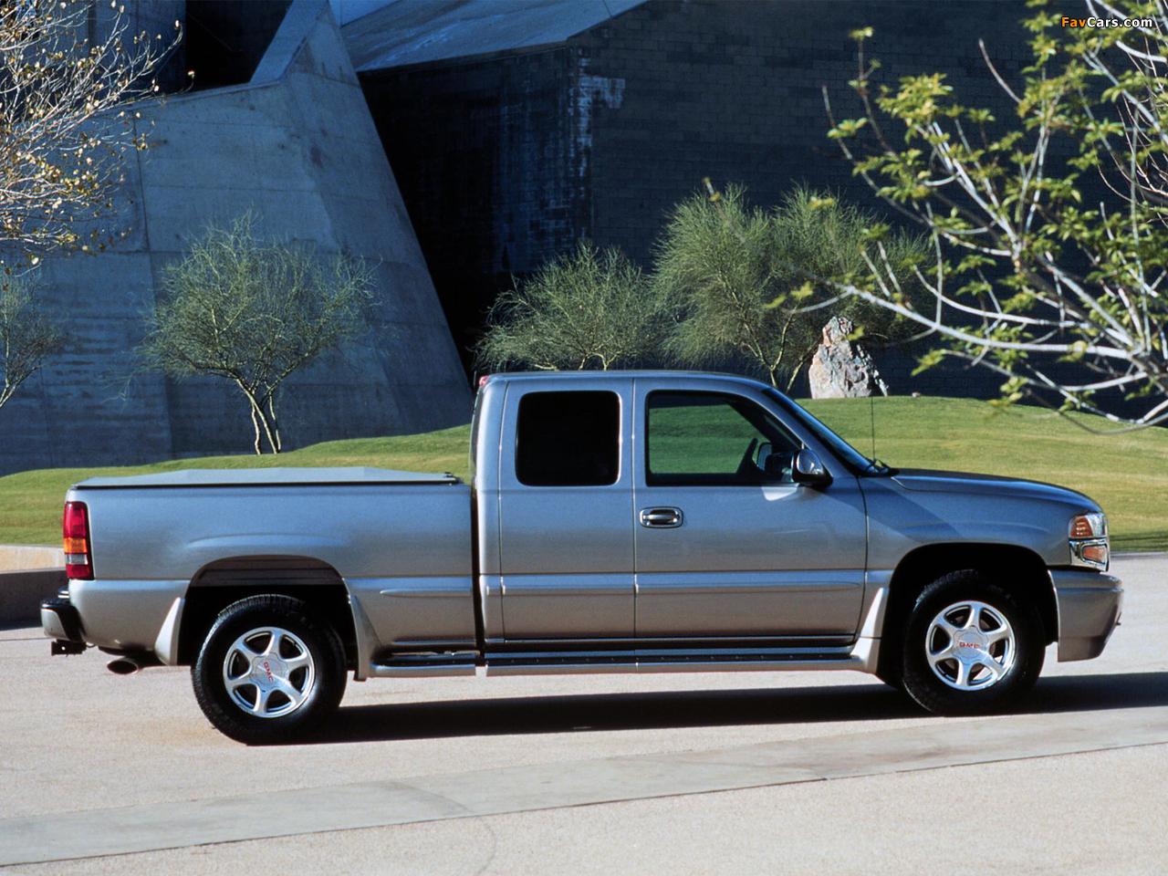 GMC Sierra C3 Extended Cab 1999–2002 photos (1280 x 960)