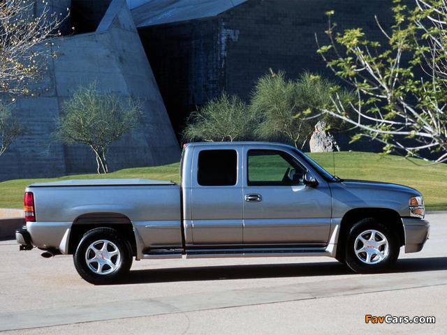 GMC Sierra C3 Extended Cab 1999–2002 photos (640 x 480)